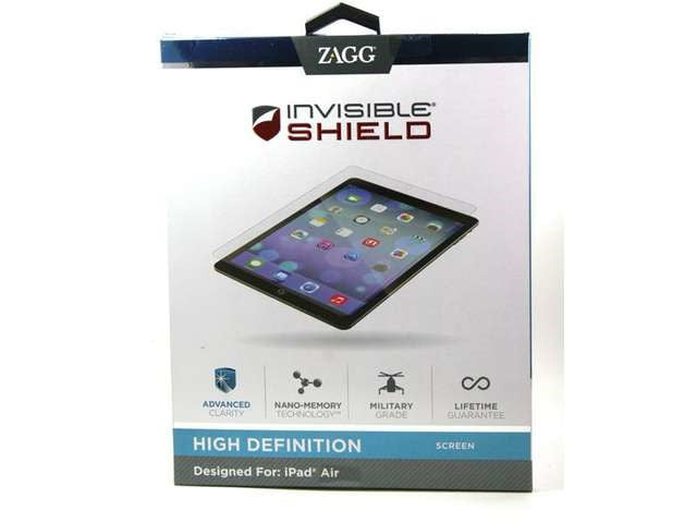 Zagg Invisible Shield Original Apple iPad Mini Screen Protector