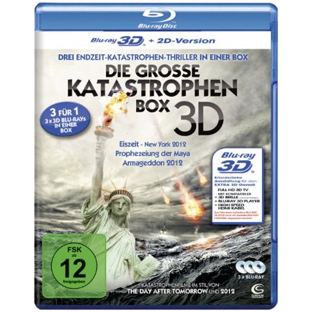 The Great Disasters - 3-Disc Set ( Doomsday Prophecy / Earth's Final Hours / 2012: Ice Age ) (3D & 2D) [ Blu-Ray, Reg.A/B/C Import - Germany (Great Mall Hours Thanksgiving)