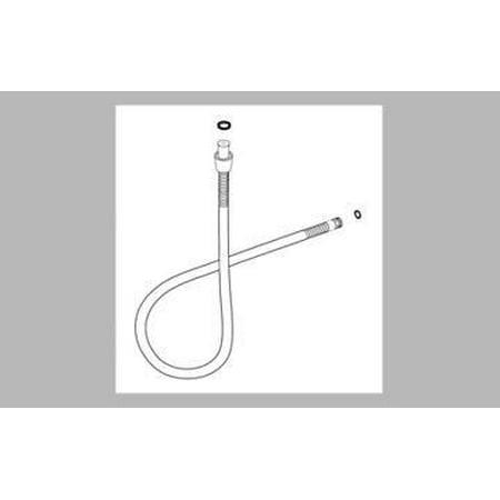 delta rp40664 hand shower hose for r4700 roman tub faucet. Black Bedroom Furniture Sets. Home Design Ideas