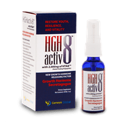 Best Growth Hormone Boosters - HGHActiv8 Patented Natural Growth Hormone Releasing Factor Review