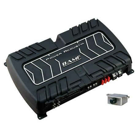 Power Acoustik BAMF1-5000D BAMF Series Monoblock Class D Amp, 5,000 Watts Max
