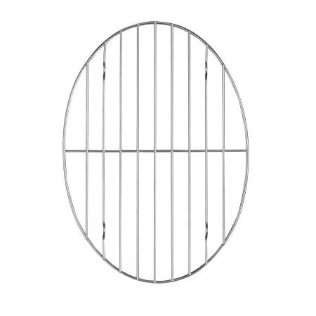 Click here to buy Harold Import Company Chrome Wire Oval Roast Rack by Harold Import Company.
