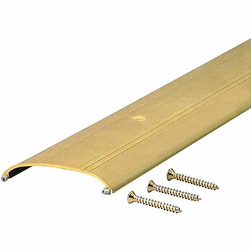 """M-D Products 09415 36"""" Bright Gold Low Boy Saddle Thresholds"""