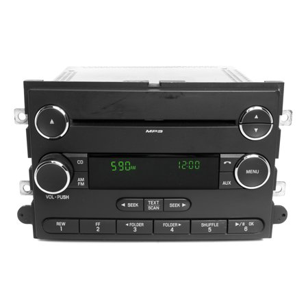 Ford 2010 Explorer AM FM Single Disc CD Player with mp3 and Sat AL2T-18C869-AC -