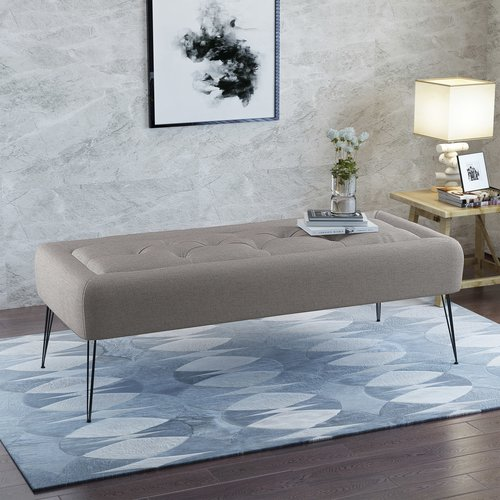 Wrought Studio Perillo Upholstered Bench