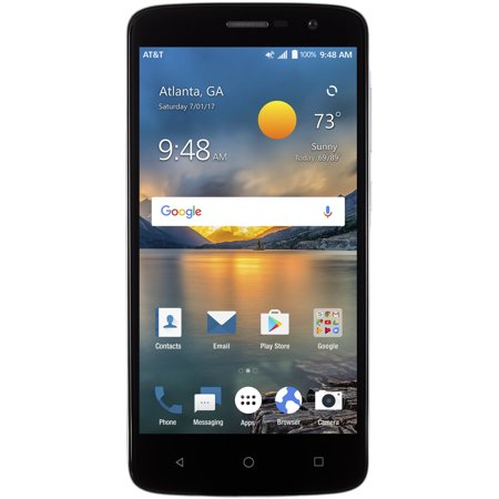 New Blade Spark ZTE Z971 16GB AT&T GSM GLOBAL UNLOCKED Smartphone - Dark Gray - Bladed Spear