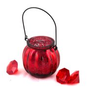 DecorFreak Small Red Pair Of Votives With Hanger