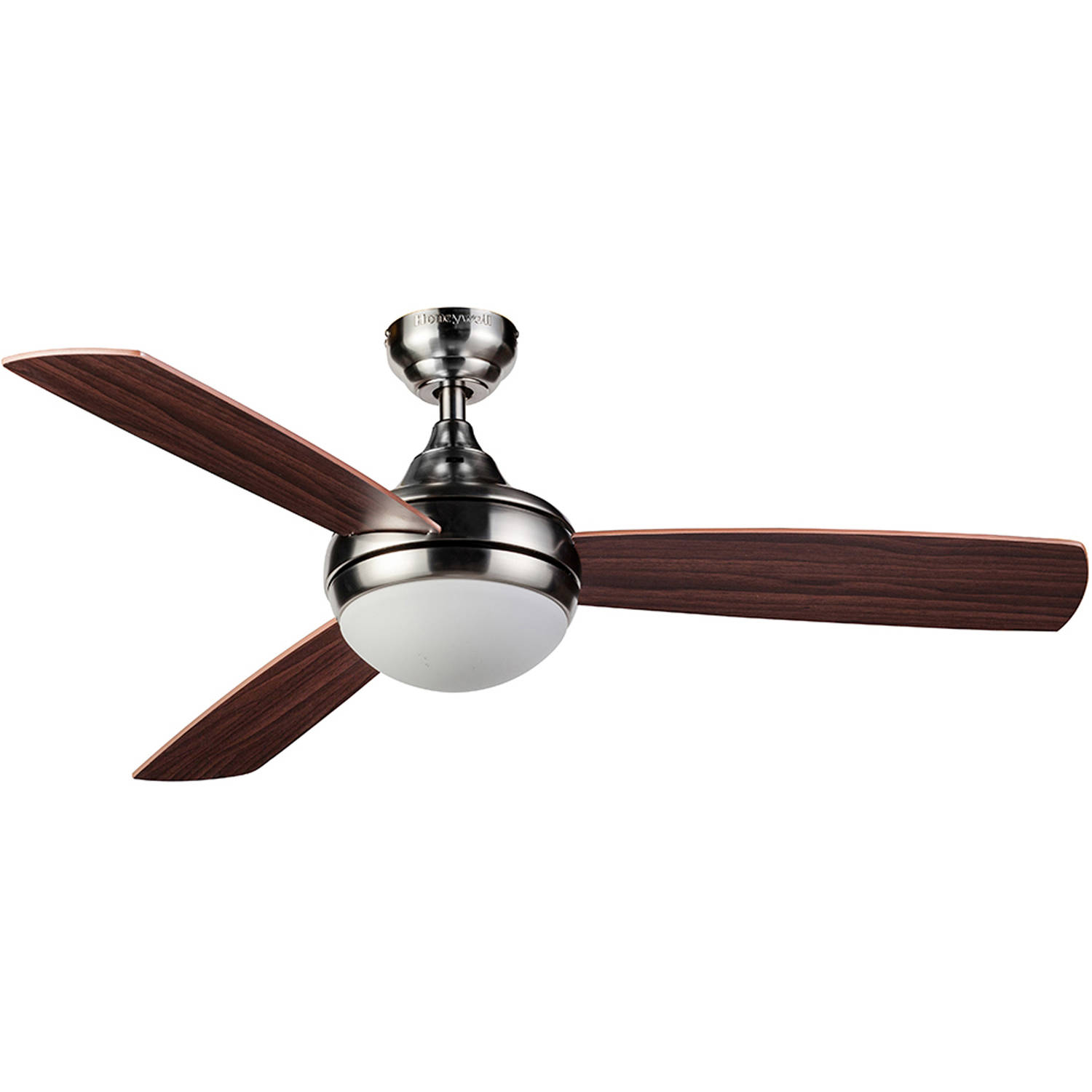"48"" Honeywell Bellecrest Ceiling Fan with Remote, Satin Nickel - Walmart.com"