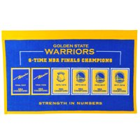 Golden State Warriors 22'' x 14'' Rafter Raiser Banner - No Size
