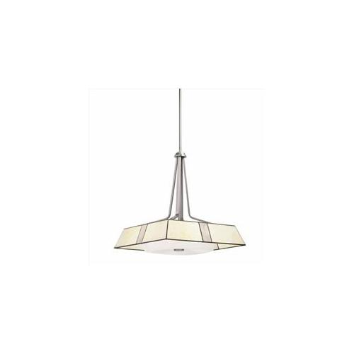 Kichler Lighting Four Light Pendant, Brushed Nickel Finish