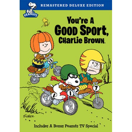 Peanuts: You're A Good Sport, Charlie Brown (DVD)](Peanut Charlie Brown)