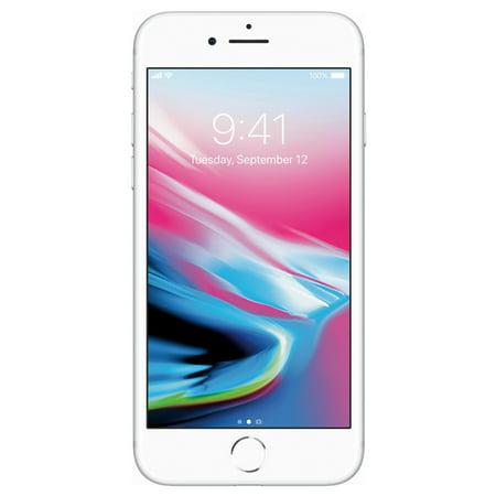 Apple iPhone 8 64GB Unlocked GSM Phone w/ 12MP Camera - Silver (Certified Refurbished)