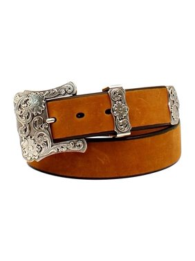5061faf9696 Product Image Nocona Women s Three Piece Floral Buckle Belt Black S
