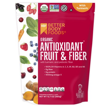 BetterBody Foods Antioxidant Fruit & Fiber Powder, 12.8