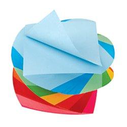 - Office Depot® Brand Neon Twirl Memo Cube, 3