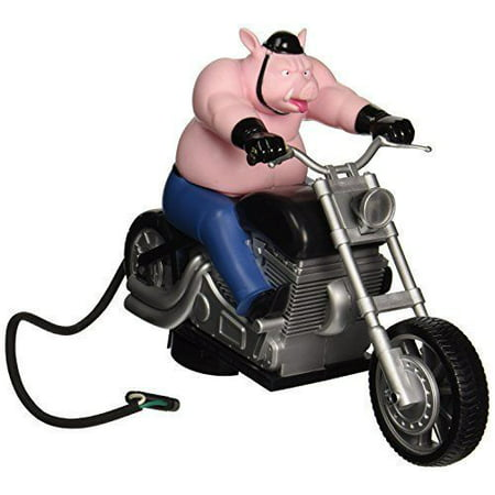 Lighted Hitch Cover - Hitch Critters Animated Ball Hitch Cover and Brake Light - Wheelie Hog