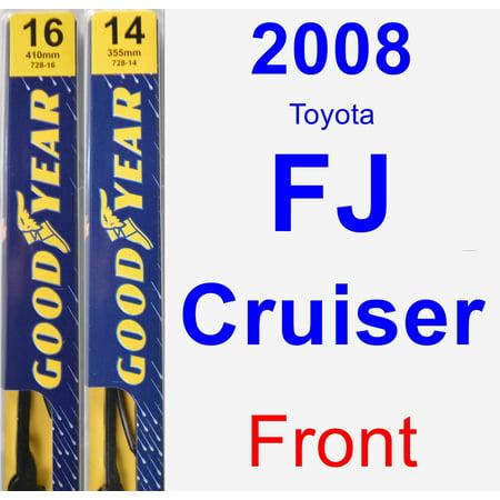 2008 Toyota FJ Cruiser Wiper Blade Set/Kit (Front) (2 Blades) -