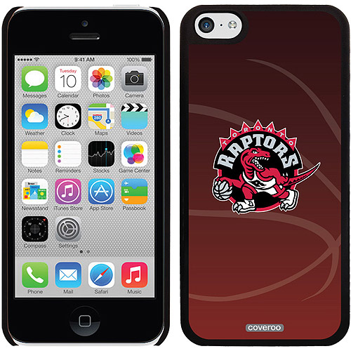 Toronto Raptors Basketball Design on iPhone 5c Thinshield Snap-On Case by Coveroo