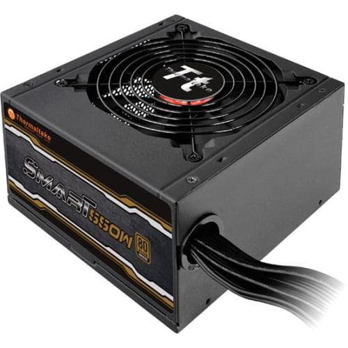 Thermaltake Smart 550W 80+ Bronze 12V ATX Computer Desktop PC Power Supply - SP-550PCBUS