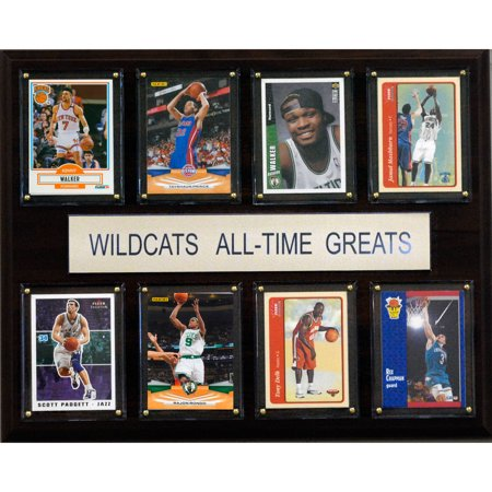 C Collectables Ncaa Basketball 12X15 Kentucky Wildcats All Time Greats Plaque