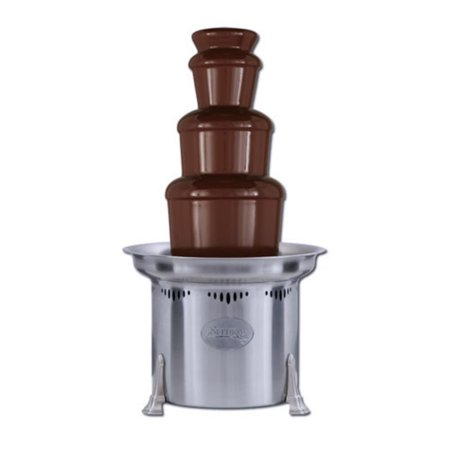 Sephra 23 Inch Stainless Steel Commercial Chocolate Fountain