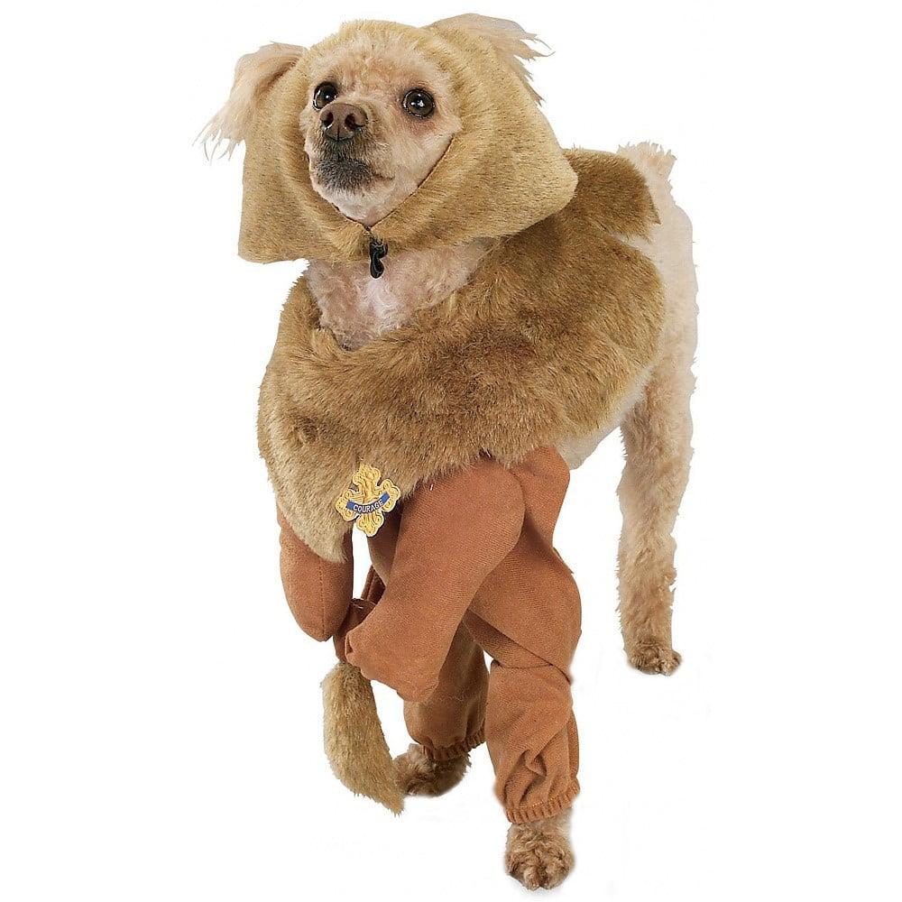 Cowardly Lion Pet Pet Costume - Small