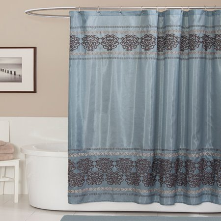 Royal Dynasty Blue Shower Curtain