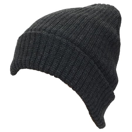 Best Winter Hats Adult Solid Color Thick W/Fleece Lined Cuffed Winter Hat (One Size) -