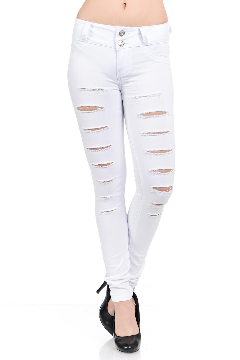 M.Michel Women's Jeans Colombian Design, Butt Lift, Levanta Cola, Push Up, Skinny · Style N141-R