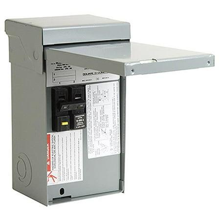 Homeline 50-Amp Hot Tub/Pool/Spa Pack Main Lug Load Center
