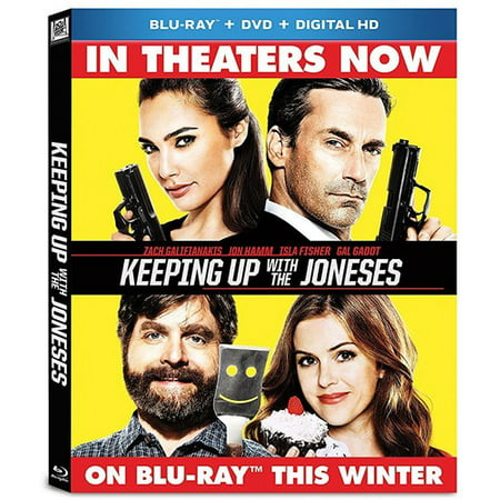 Keeping Up With The Joneses  Blu Ray   Dvd