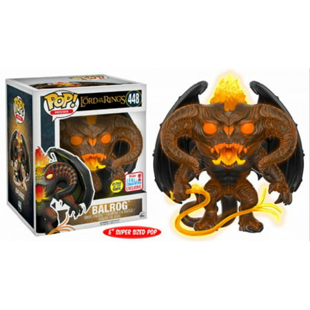 Glowing Balrog Lord of the Rings Funko Pop! Vinyl Figure #448 NYCC 2017 Limited - Halloween Pop Culture 2017
