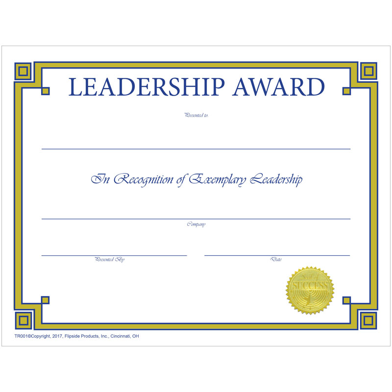 Traditional Leadership Award - image 1 of 1