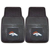 "Denver Broncos 2-pc Vinyl Car Mats 17""x27"""