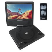 "Best Kids Dvd Players - KoramzI Portable 7"" Swivel DVD Player with Rechargeable Review"
