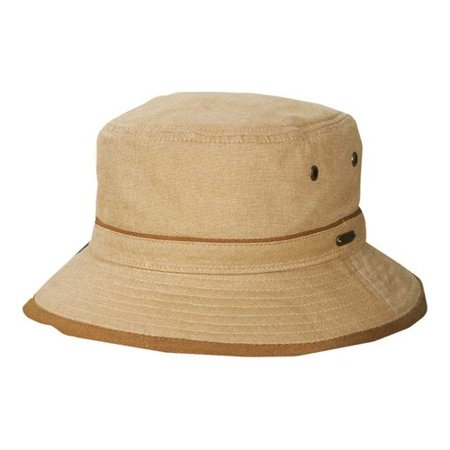 8e7de7549 Men's Stetson STC260 Oxford Bucket Hat