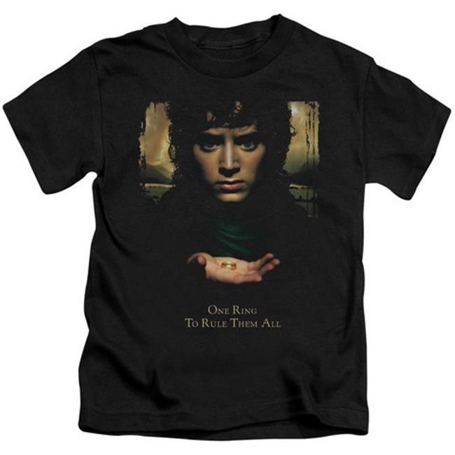 Lor-Frodo One Ring Short Sleeve Juvenile 18-1 Tee, Black - Small 4 - image 1 de 1