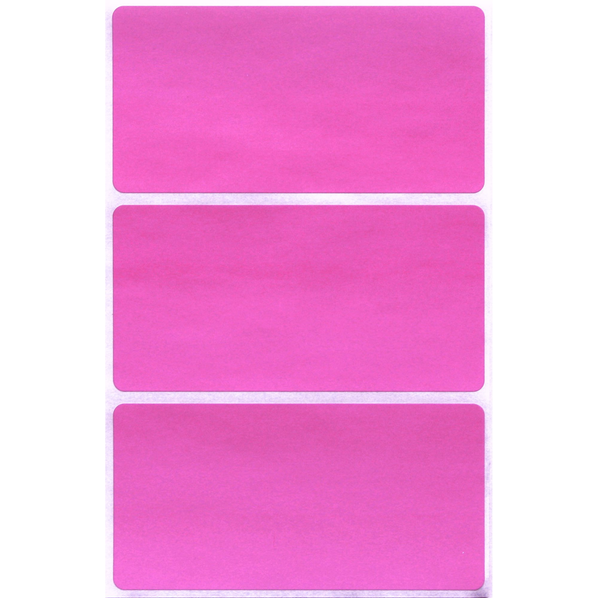 Rectangular Name Tags Colored Coding Labels Moving 4 x 2