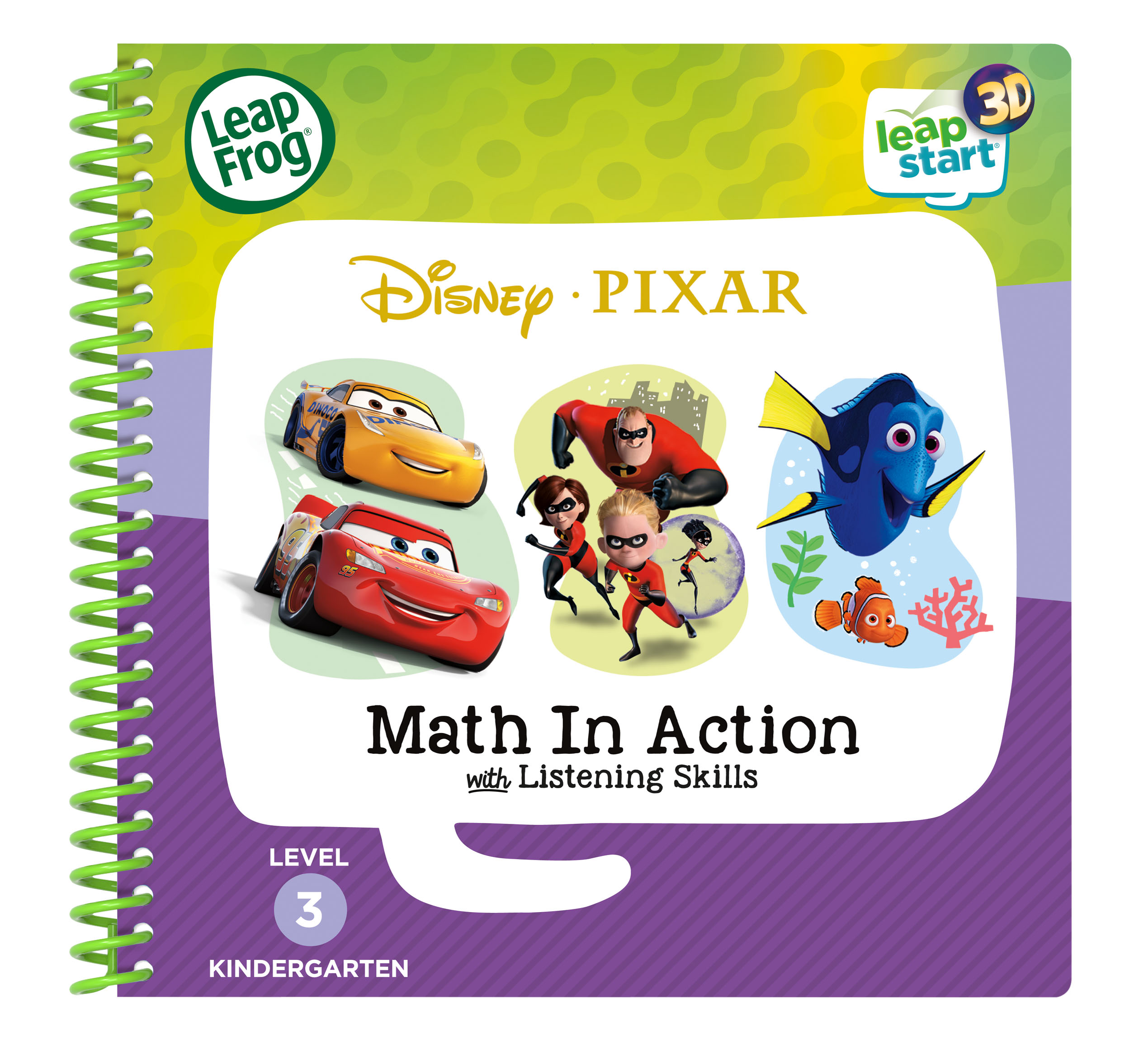 LeapFrog LeapStart Pixar Math in Action with Listening Skills