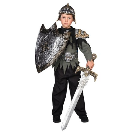 Halloween Warrior Cat Names (Boys Knight Warrior Halloween Costume Top Pants Helmet &)