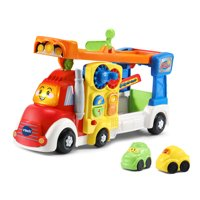 VTech Go! Go! Smart Wheels Big Rig Car Carrier Playset with Two Vehicles