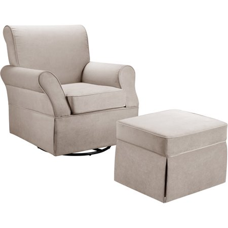 Baby Relax Kelcie Swivel Glider & Ottoman, Choose Your
