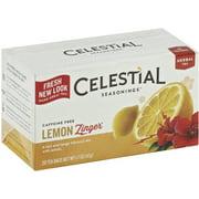 Celestial Seasonings Lemon Zinger Caffeine Free Natural Herb Tea 20 ea (Pack of 6)