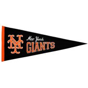 """NY Giants 13"""" x 32"""" Cooperstown Pennant"""