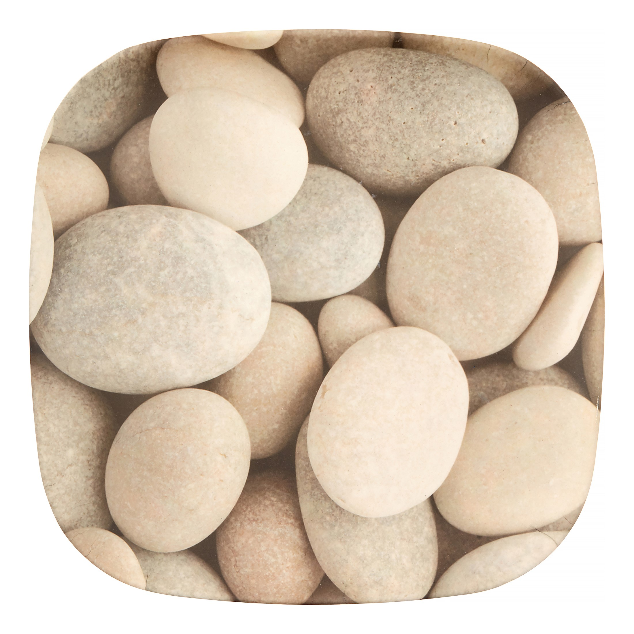 Bamboozle 11 In. Dinner Plate Set (Set of 4), Pebble