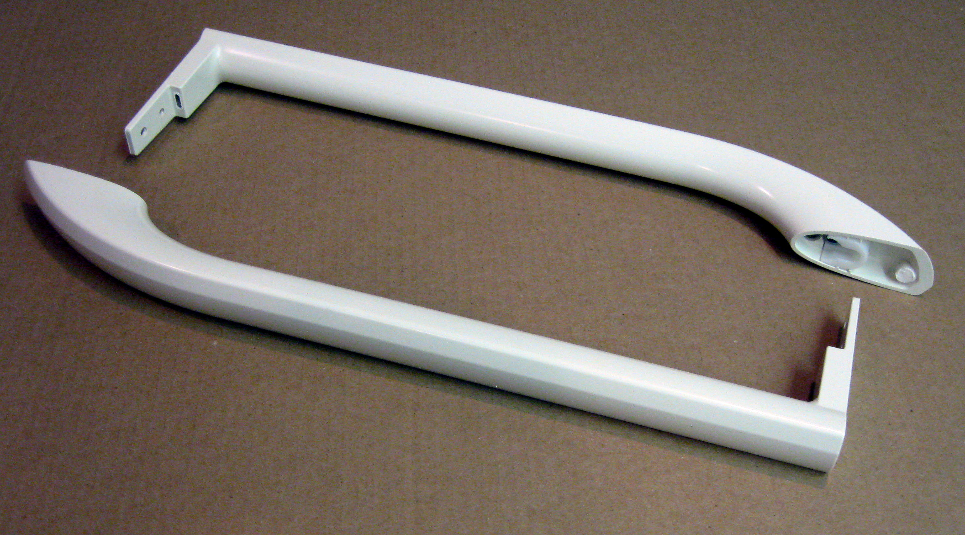 5304504508 Electrolux Frigidaire Refrigerator Freezer Door Handle Set  Bisque AP6004364 PS11757946   Walmart.com