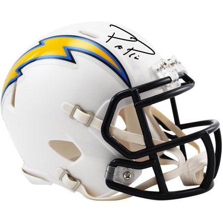 Philip Rivers Los Angeles Chargers Autographed Riddell Speed Mini Helmet - Fanatics Authentic Certified