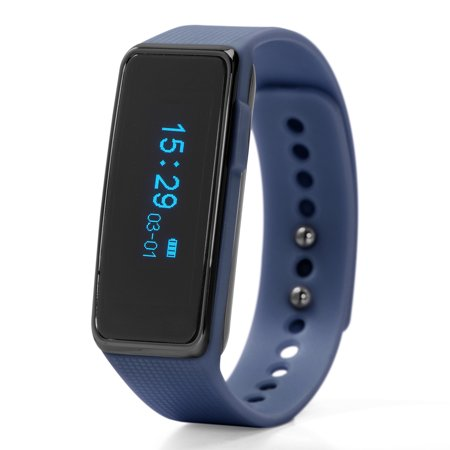 Nuband Activ+ Activity Tracker Watch, Navy Blue