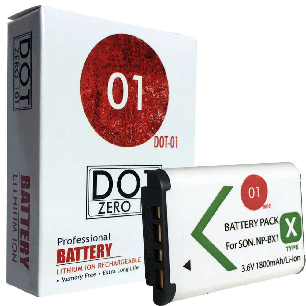 DOT-01 Brand 1800 mAh Replacement Sony M8 Battery for Sony HDR-PJ275 Camcorder and Sony M8