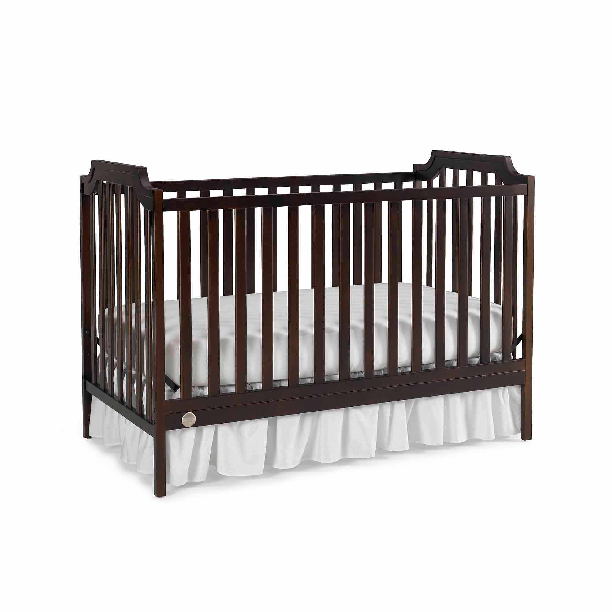 Fisher-Price Providence 3-in-1 Fixed-Side Convertible Crib, Choose Your Finish